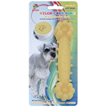 "Percell 6"" Nylon Dog Chew Bone Corn Chowder Scent"