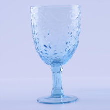 Baby Blue Highball Glass Tumbler And Goblet