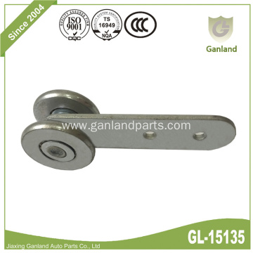 All Steel Wheel Side Curtain Roller With Shank
