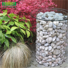 Welded mesh gabion galfan coated basket for sale