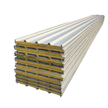 rock wool 75mm insulated sandwich wall panels prices