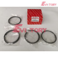 KOMATSU engine parts piston 4D130 piston ring