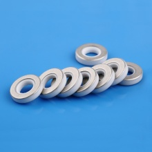 High purity metallized ceramic spacer