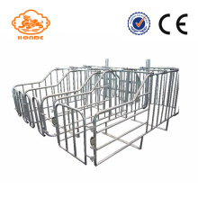 Galvanized Stainless Steel Tube Gestation Pig Pen Design