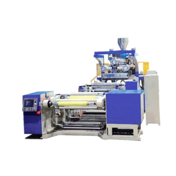 Multi-layer co-extruding flow casting film production line