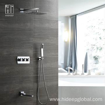 Online Manufacturer for Shower Faucet Cold And Hot Three Function Shower Faucet Set export to United States Exporter