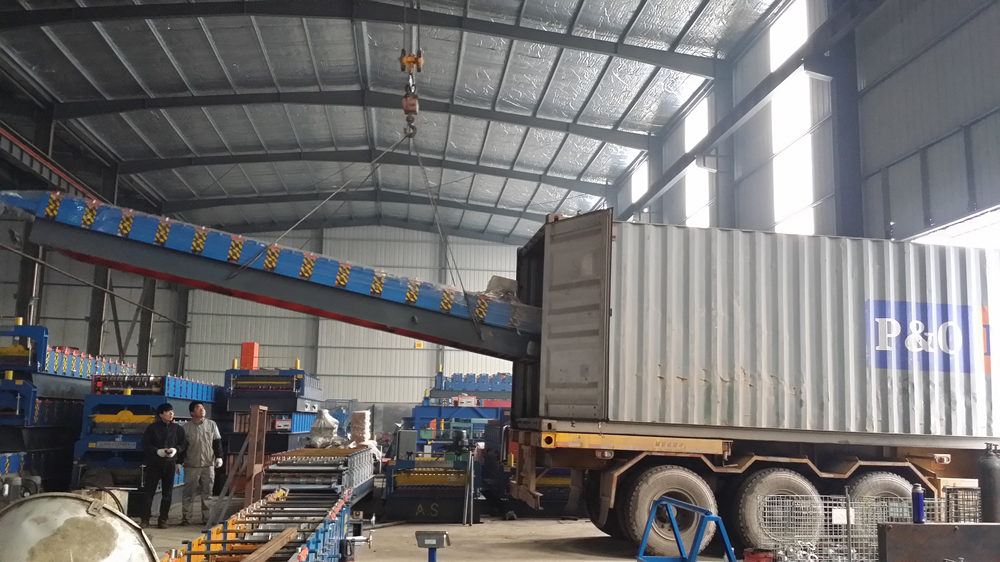 Loading Roll Forming Machine
