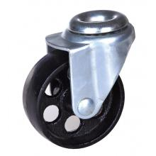 High Permance for Bolt Hole Brake Caster 3'' hollow kingpin steel casters supply to French Guiana Suppliers