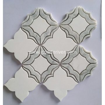High Quality White Marble Mosaic for Wall