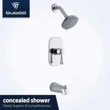 Bathroom Sanitary Ware Wall Mount Brass Shower Faucet