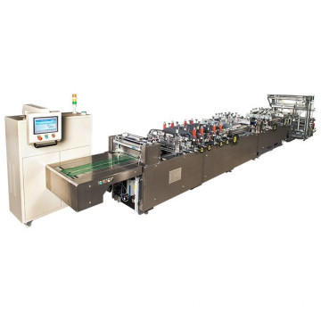 three or center bag making machinery