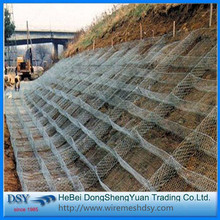 Construction hexagonal wire mesh/gabion box