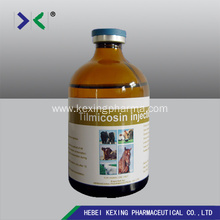 10 Years for Tilmicosin Phosphate Solution Animal Tilmicosin Injection 25%/30% supply to South Korea Factory