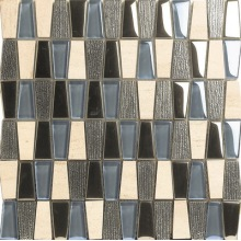 Professional China for Glass Marble Mixed Split Joint Mosaic Trapezoid Style Mix Mosaic export to St. Helena Importers