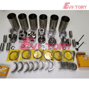 excavator EK200 engine gasket bearing piston ring liner