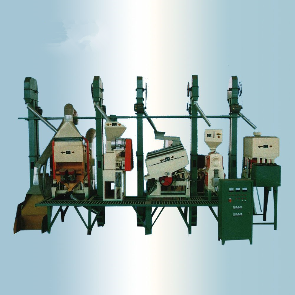Rice Milling Complete Line Equipment