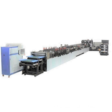 eight side seal bag making machine