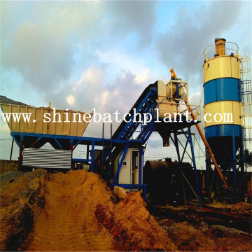 35 Mobile Concrete Batch Plant