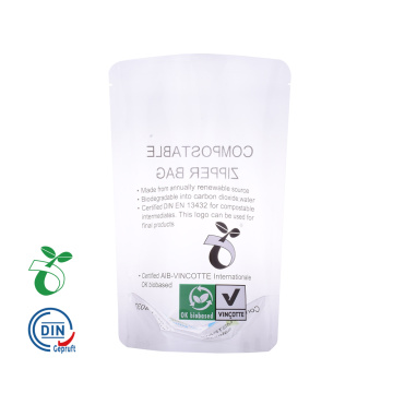 Compostable Biodegradable Clear Corn Starch Packing Bag