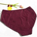 Triangle shorts head cotton covered elastic pantie