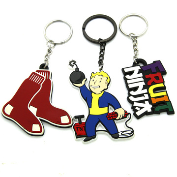 2018 New food grade custom keychain