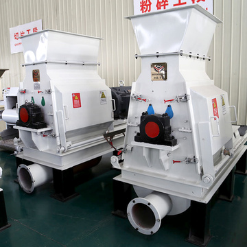 No pollution and low noise hammer mill