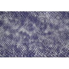 Wholesale Price for Pu Leather Python Snake Print Embossed PU Leather supply to Netherlands Manufacturer