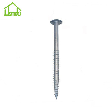 Hot galvanized new screw piers for sale