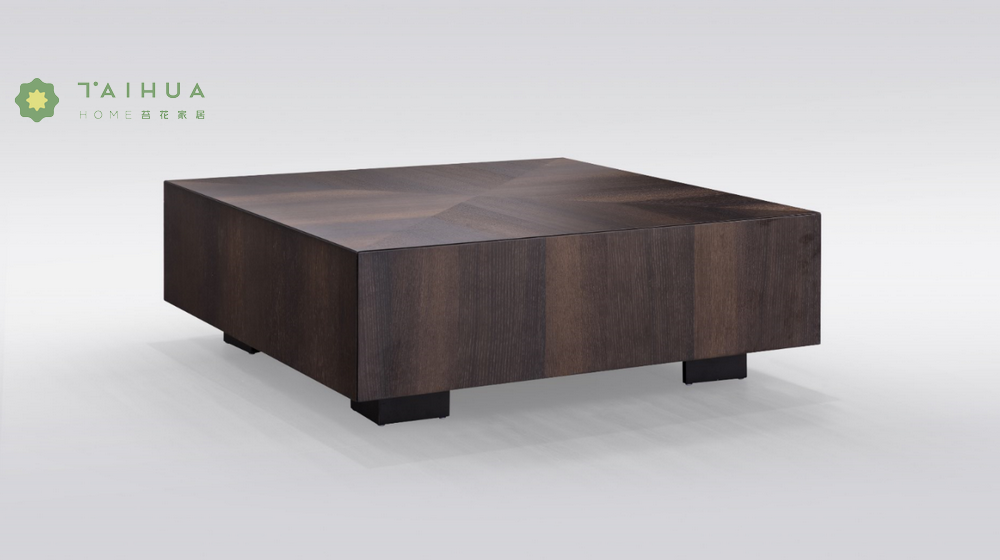 Solid Wood Square Coffe Table