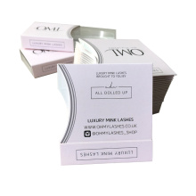 Smooth Edge Design Half Sleeve Eyelash Paper Box