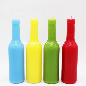 party decoration beer bottle paraffin wax scented candle