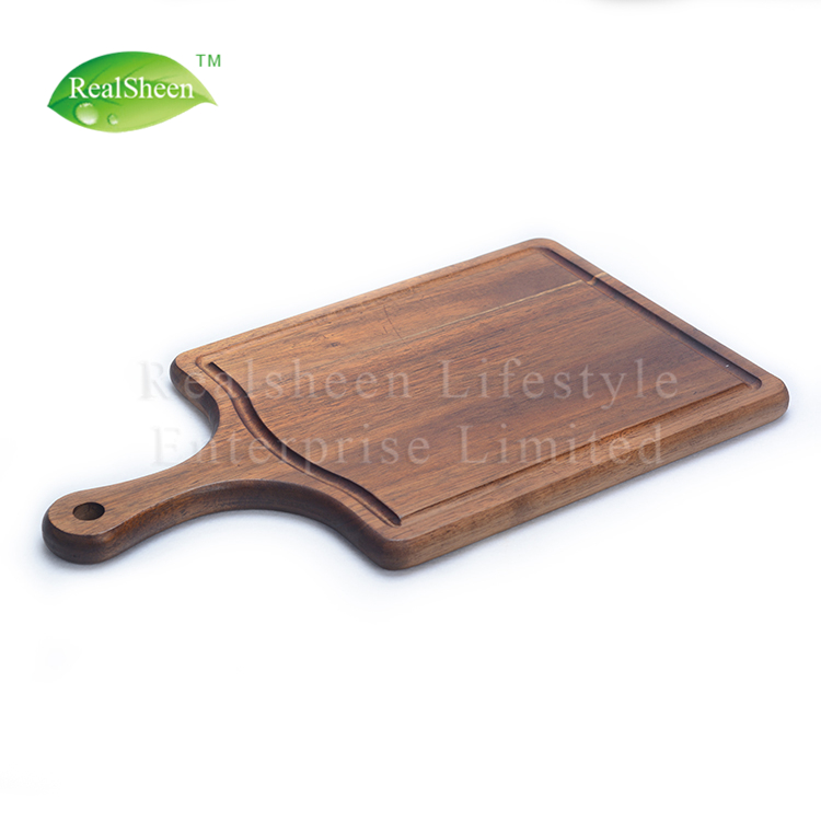 Acacia Wood Steak Plate