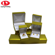 plastic paper packaging ring necklace bracelet box set