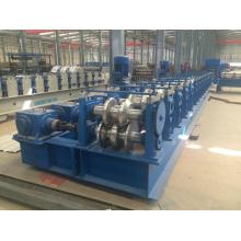 steel crash barrier roll forming machine