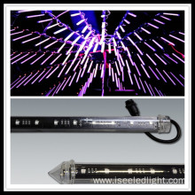 Top bar dmx 3D LED meteor tube stick