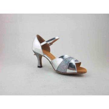 Silver dance shoes uk