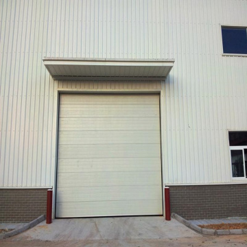 Warehouse overhead lifting up aluminum sectional door