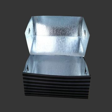 Aluminium foil take away food paper lunch box