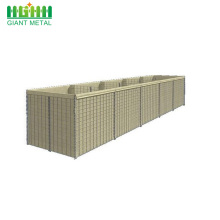 Galvanized Military Sand Wall Defensive Hesco Barriers