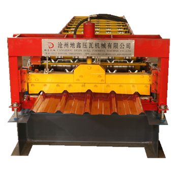 New type trapezoidal roof sheet roll forming machine