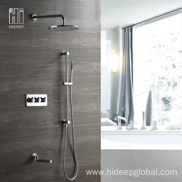 Best quality Low price for Bathroom Shower Faucet HIDEEP Wall Mount Bathroom Shower Faucet export to Italy Exporter