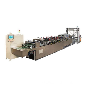 servo cut control bag making machine