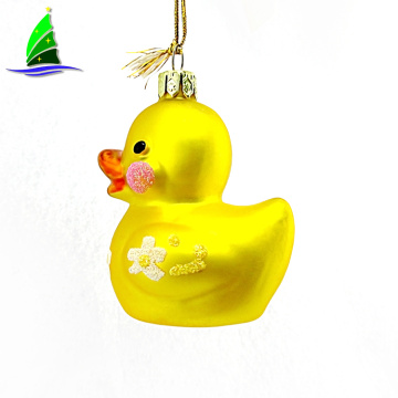Christmas Yellow Duck Hanging Ornament