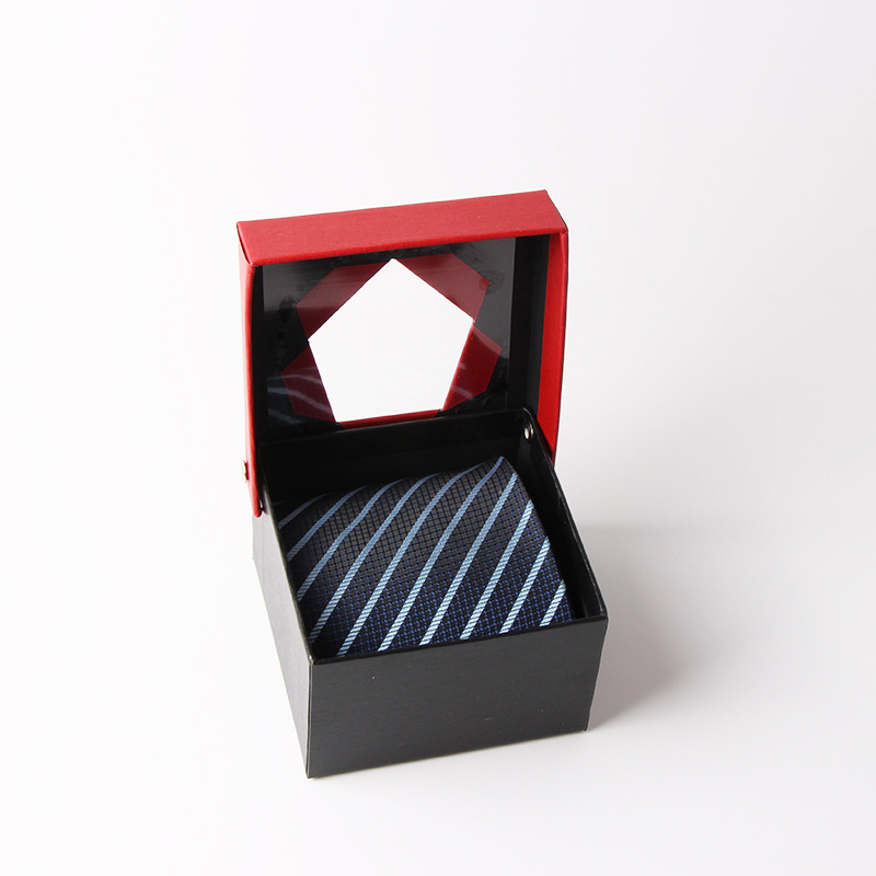 Square gift box for tie