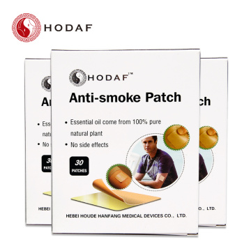 factory price effective anti smoking patch