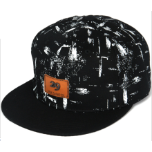 Customized for Hip Hop Cap With Embroidery Metal Brand Leather Applique Printing Hip Hop Cap supply to Burkina Faso Manufacturer