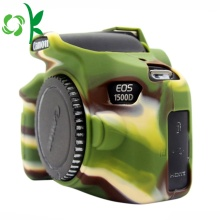 High Quality Camouflage Green Silicone Soft Camera Case