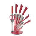 8pcs stainless steel butcher knife set