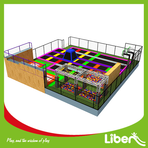 Kids large indoor commercial trampoline equipment