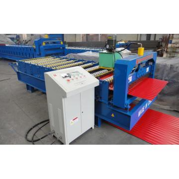 Colored Steel Corrugated Roof Roll Forming Machine